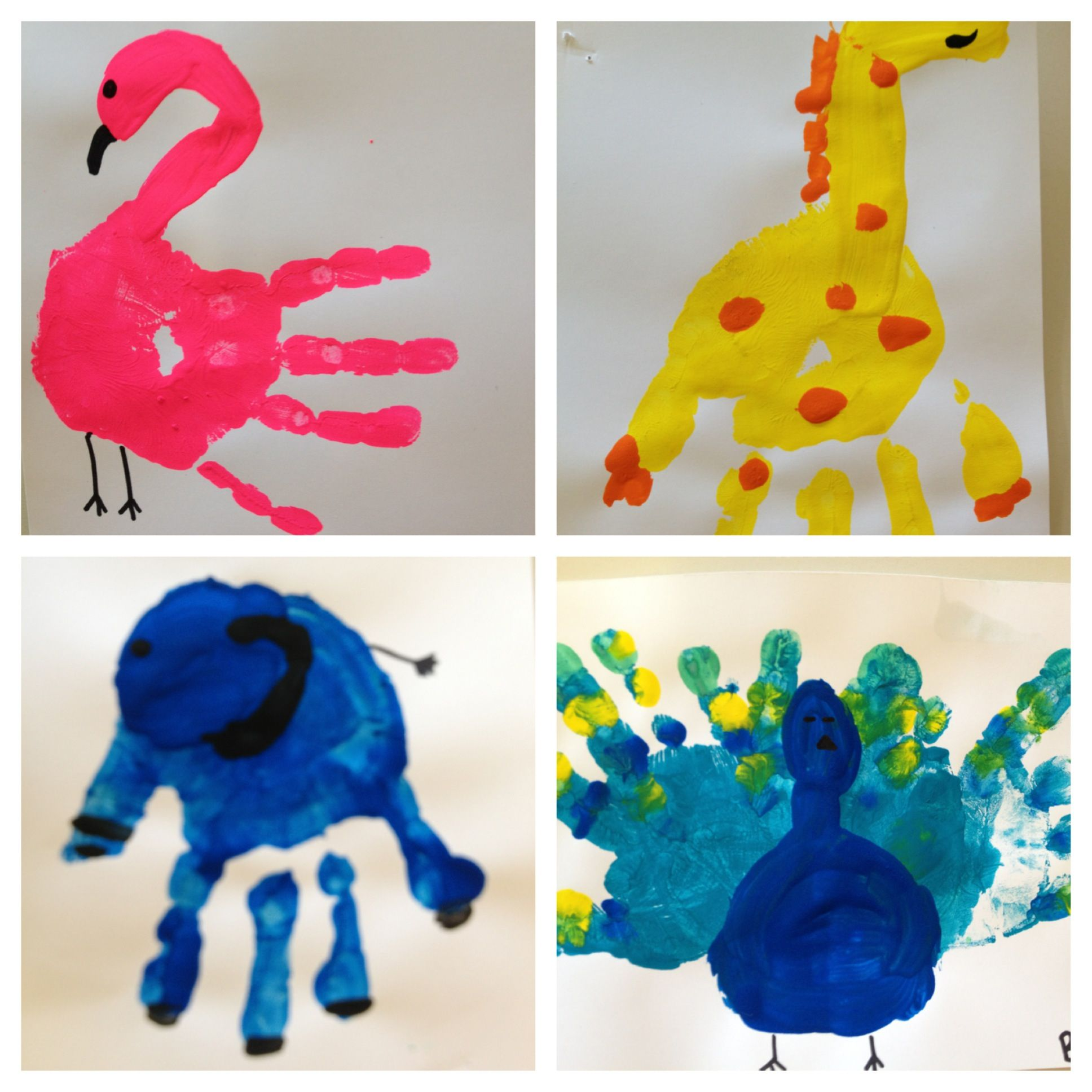 Zoo animals teaching pinterest zoos animal and craft for Animals art and craft for preschoolers