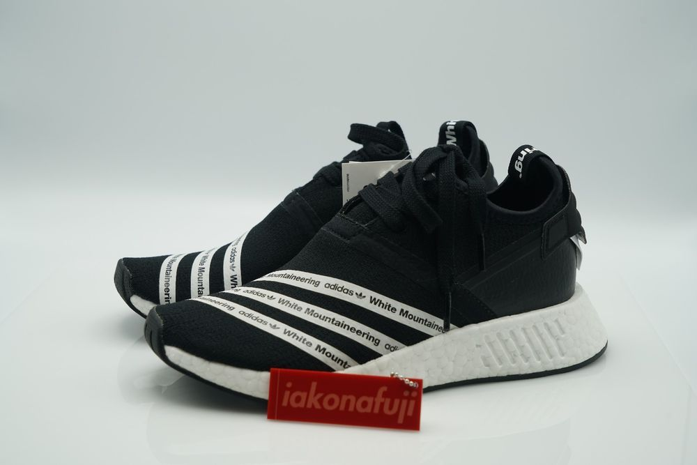 Adidas White Mountaineering x NMD R2 - Black size 6 Men US | Clothing, Shoes
