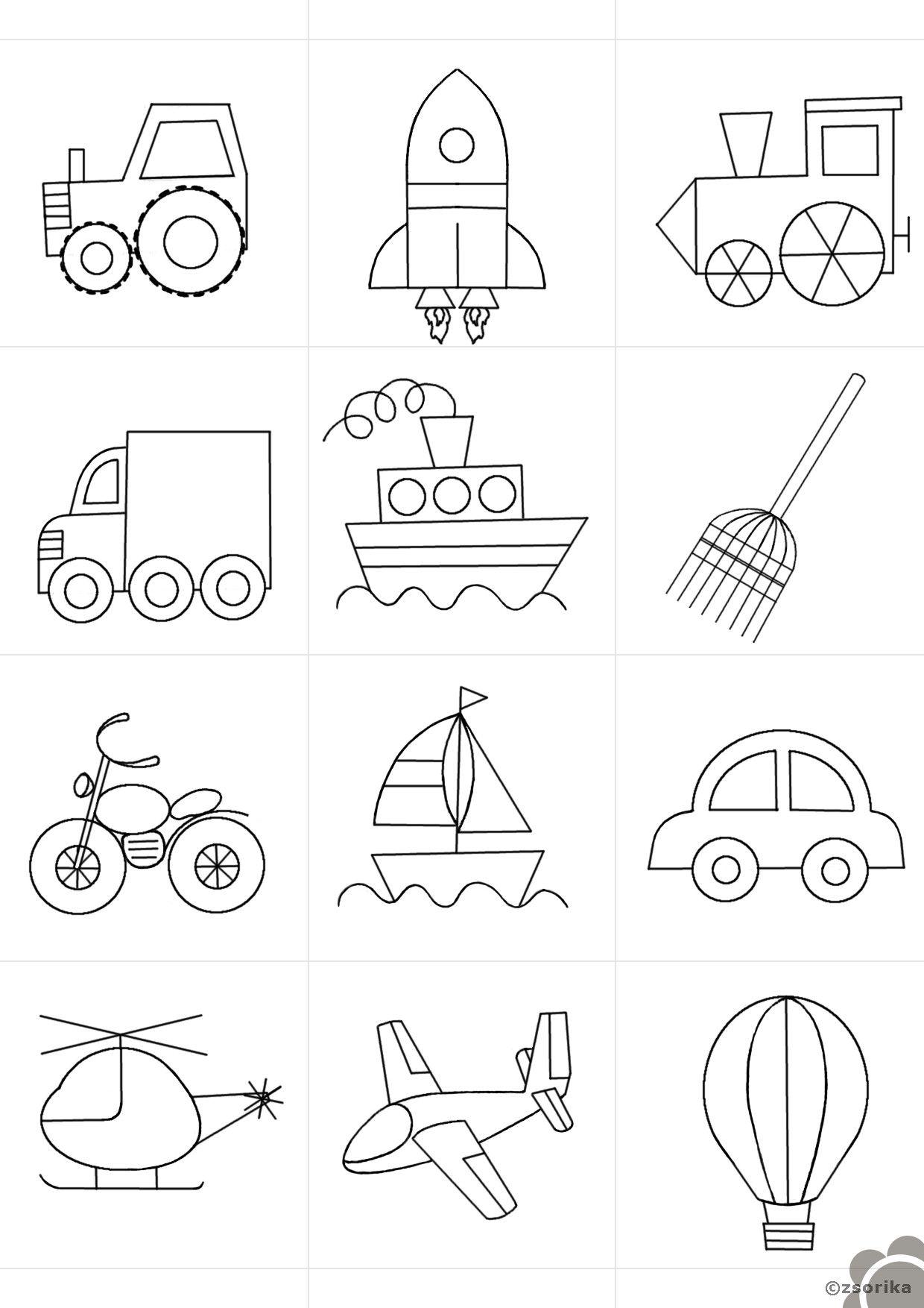 Lieblings Weitere ideen Fahrzeuge | für mein kind | Vorschule, Kindergarten &IF_33