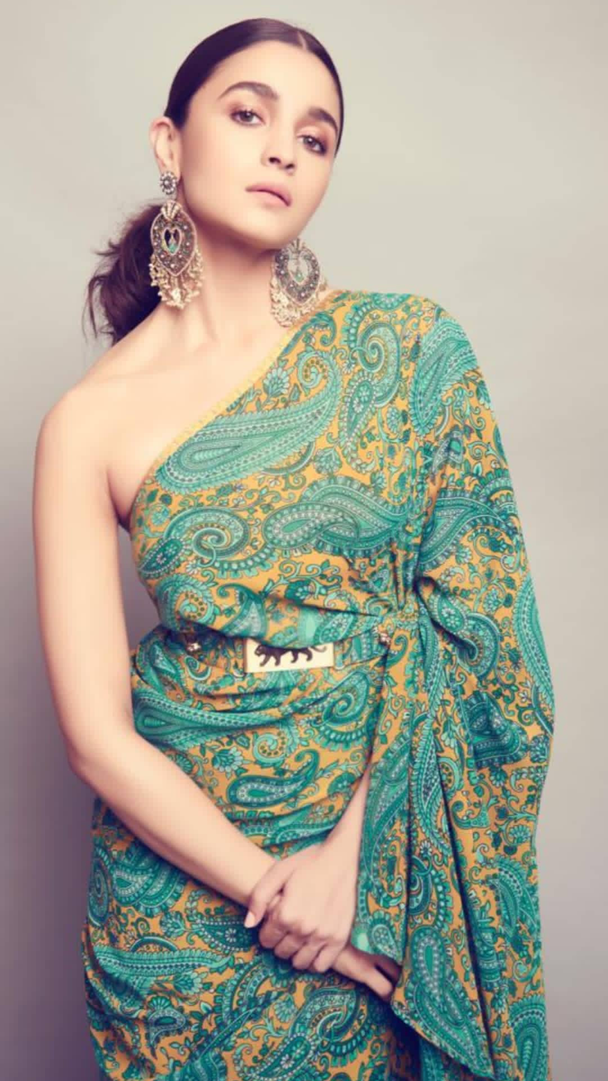 Pin by Safa on bridal makeover   Alia bhatt saree, Bridal