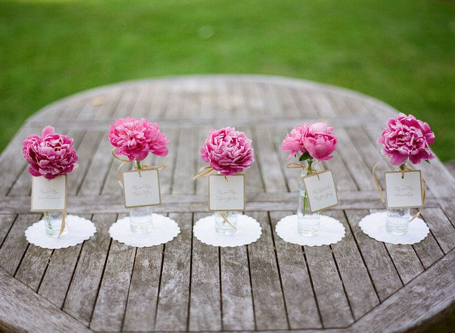 New Jersey Peony Wedding Inspiration from TableArt + Marie ...