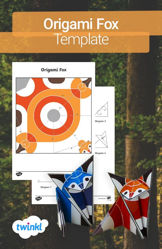 Photo of Diese lustige Aktivität ermöglicht es Ihren Kindern, ihren eigenen Origami-Fuchs in einem gerechten …