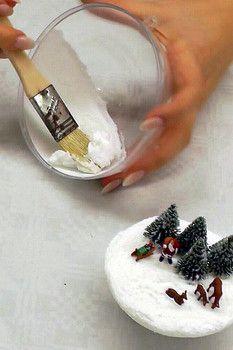 Bastel anleitung f r eine ausgefallene ganz besondere christbaum kugel dekoriere eine kleine - Ausgefallene weihnachtskugeln ...