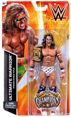 WWE Mattel figure BASIC K-Mart Champions LEGEND ULTIMATE WARRIOR toy Wrestling