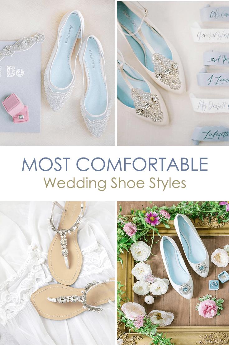 Comfortable Wedding Shoe Styles