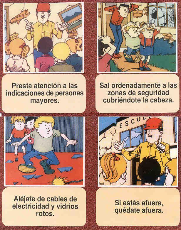 Que Hacer Despues De Un Sismo 3 Comics Peanuts Comics Spanish