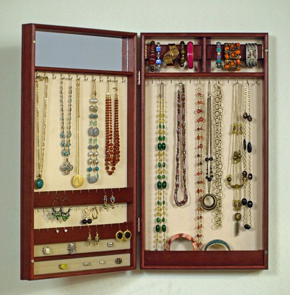 Hanging Jewelry Armoire Home Decor