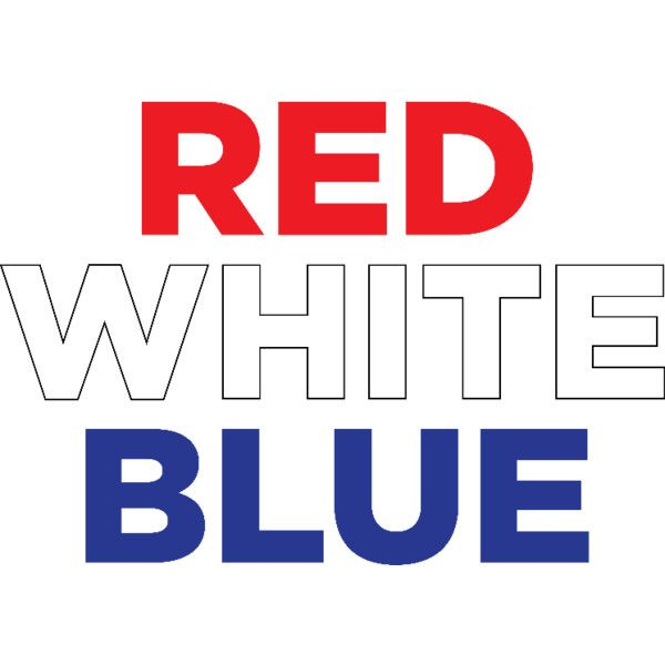 Redwhiteblue1 Liked On Polyvore Featuring Blue Phrase Quotes