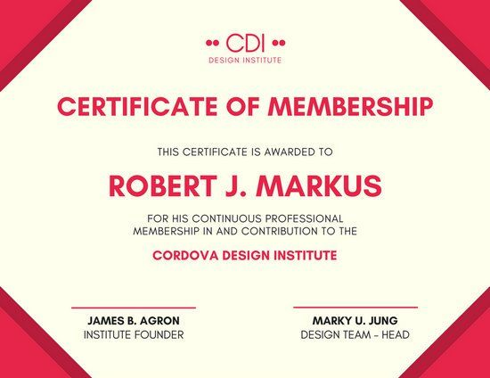 Image result for design templates for certificates August2k17 - membership certificate templates