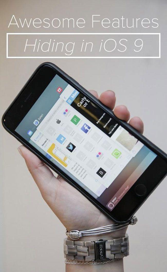 12 hidden features in iOS 9 Iphone info, Iphone apps, Iphone