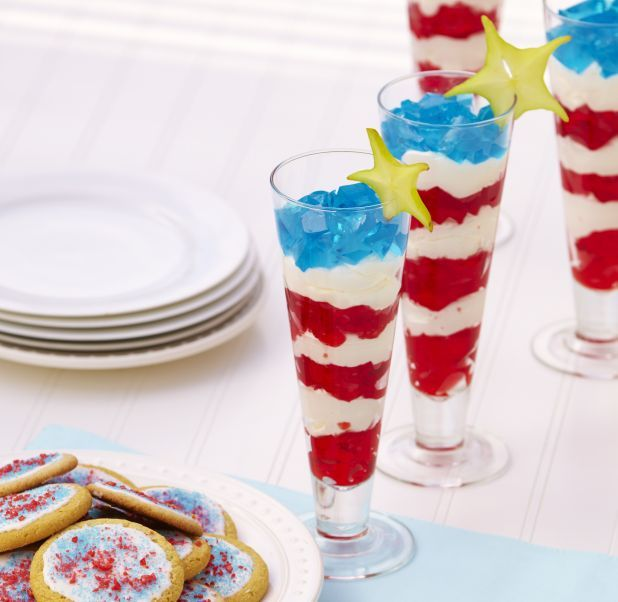 patriotic jello with cool whip