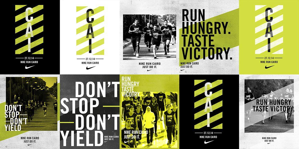 more photos a816e c7a82 Nike Run Cairo on Behance. Nike Run Cairo on Behance Nike Design, Ad ...
