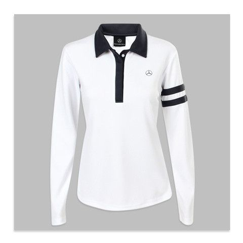 d149a0ec1a0 Women's Rugby Polo. This cute long-sleeved shirt looks great with a pair of  jeans for a simple, comfortable kind of day. #fashion #shirt #top #cute  #fashion ...