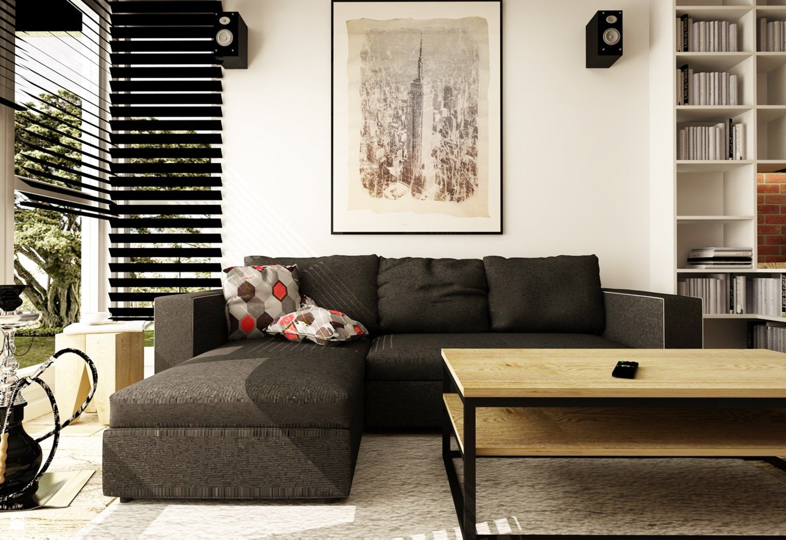 1000+ images about salon industrialny / industrial living room on