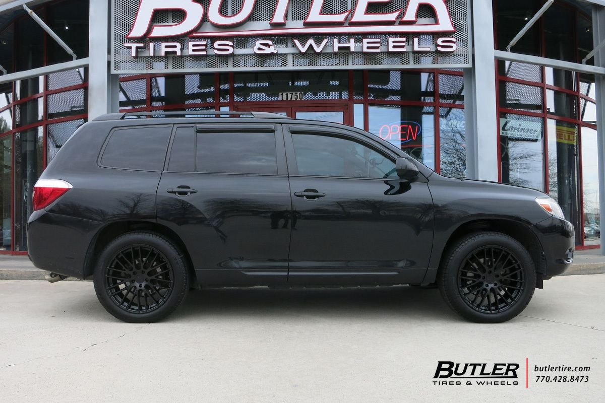 Toyota Highlander Gray Custom Wheels Google Search Toyota Highlander Toyota Highlander