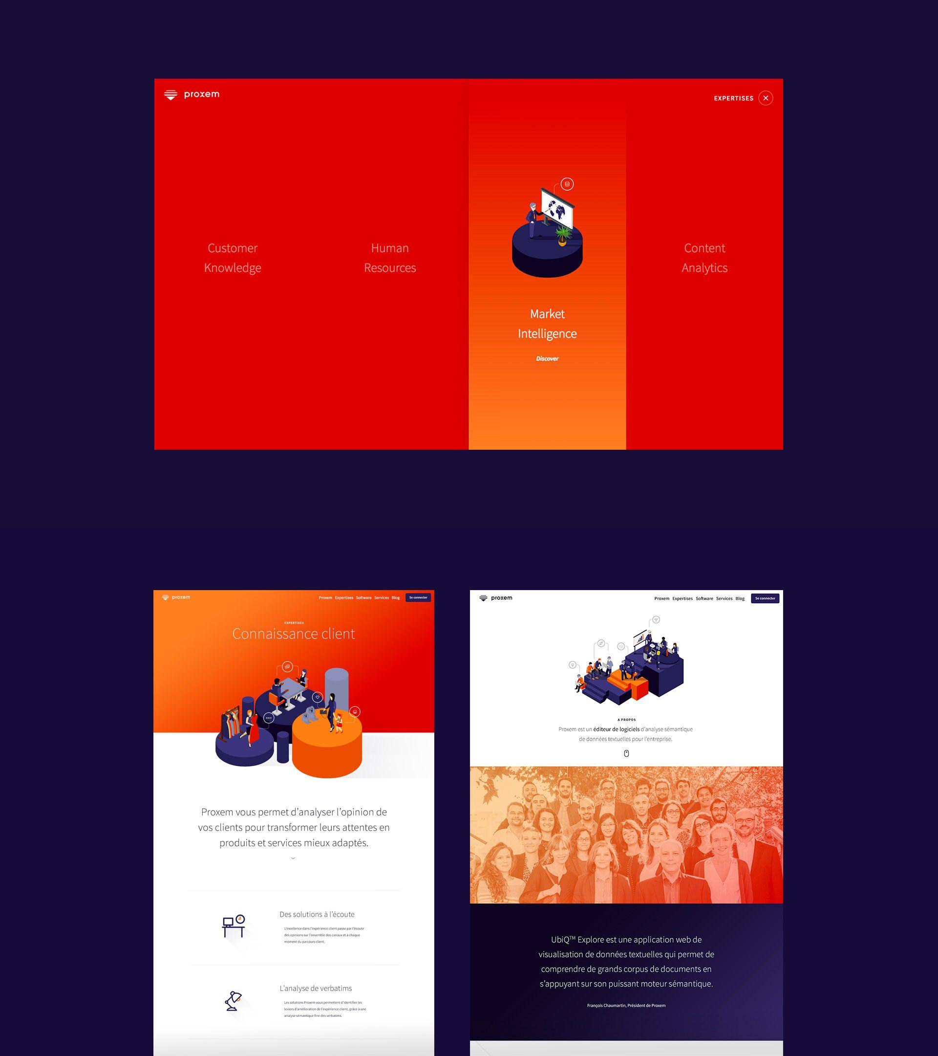 Proxem Web Design Interactive Design Creative Web Design