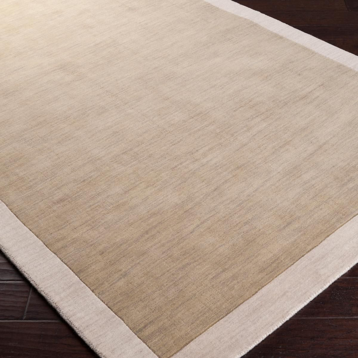City Hues Solid Bordered Rug Soft Stylish Rugs Rugs Office