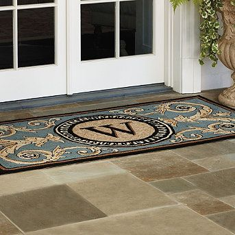 Customized Front Door Mat By Frontgate Front Door