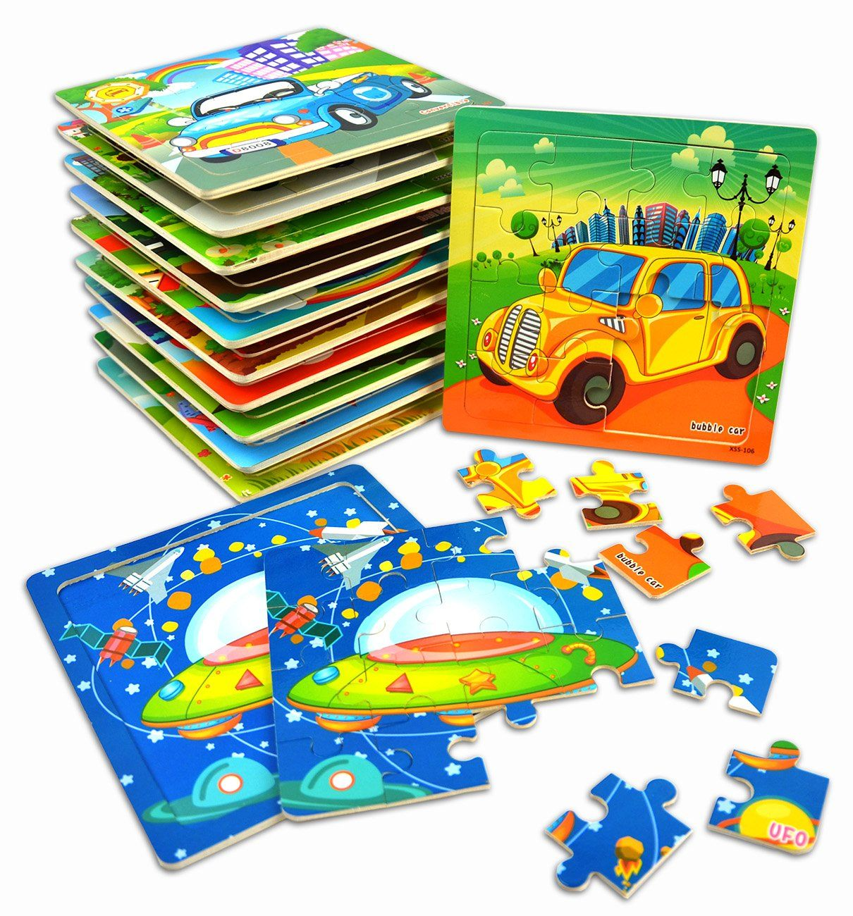 Golf Party Vileafy Kids Jigsaw Puzzles Party Favors Toys For Boys And Girls Wooden Puzzles 12pack With Jigsaw Puzzles For Kids Kids Jigsaw Boy Party Favors