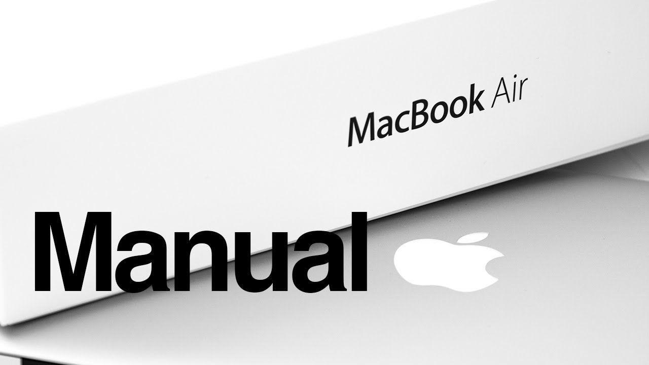 Manual for mac catalina