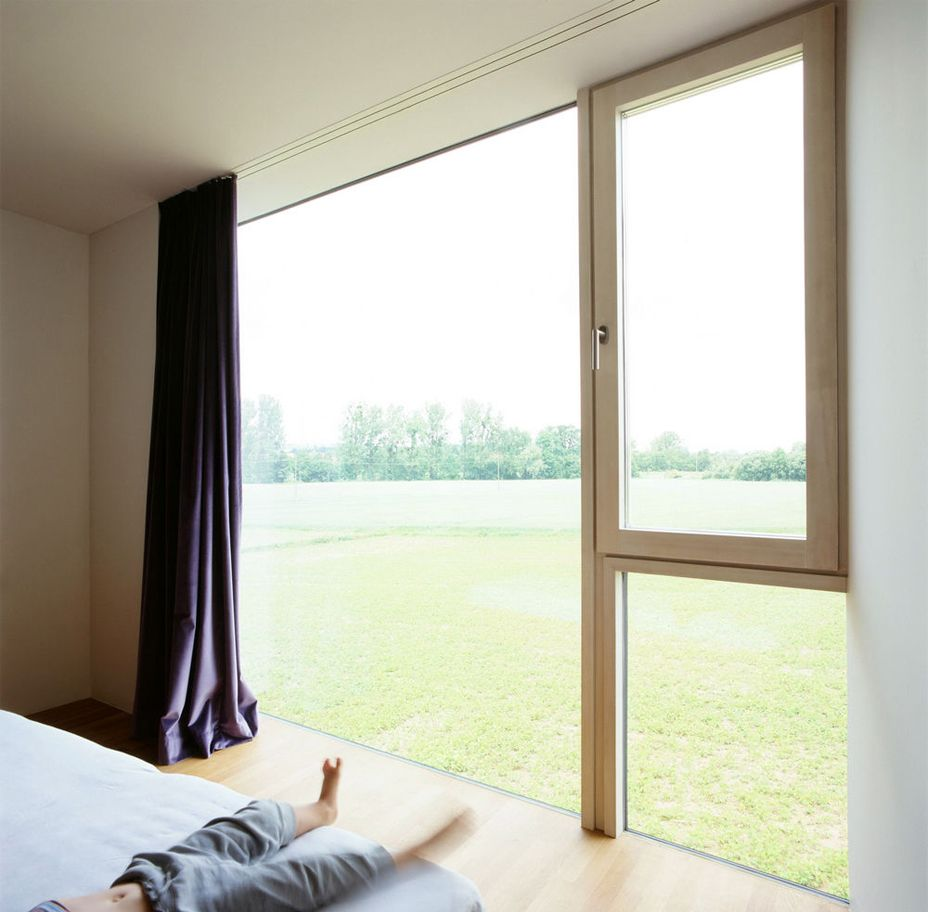 Window design for small house  raumstation irnharting by x architekten  bedroom  pinterest  bedrooms