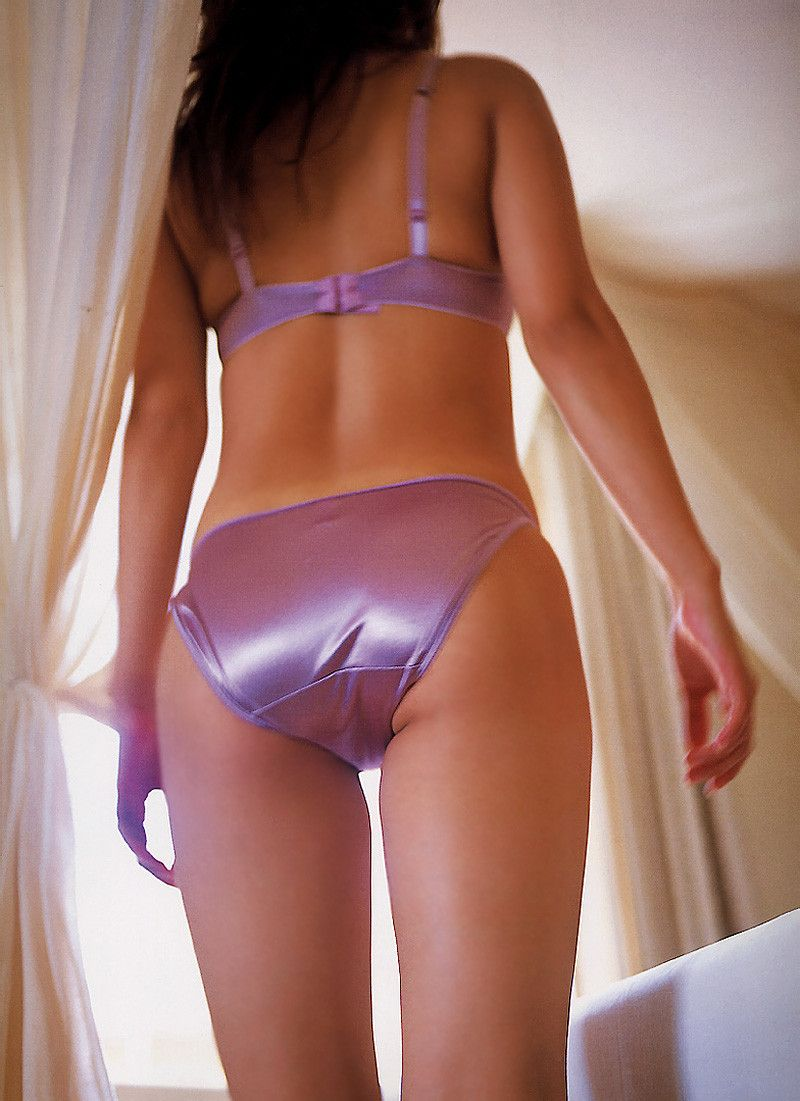 satin in panties posing Girls