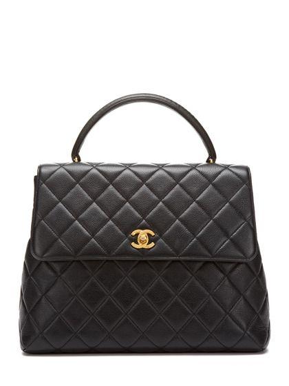 Black Caviar Kelly Flap Bag  4829658d73957