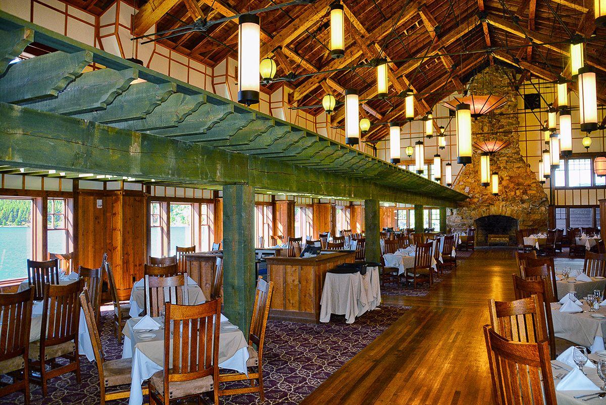 Ptarmigan Dining Room Glacier Hotel 7 Continents