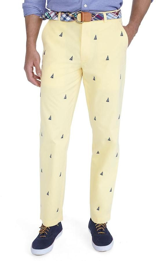9a867d4e Clark Sailboat Embroidered Pants | Prep in 2019 | Pants, Clothes ...