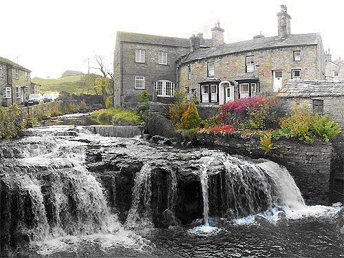 Hawes Yorkshire Dales Have Stayed In The Cottage Far Right Of Block