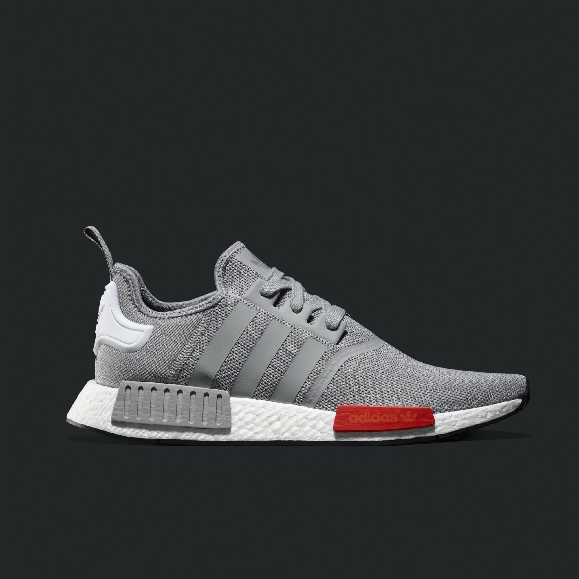 "Comfortable Adidas NMD Last R2 ""Oreo"" Black/White Clearance Running Shoes"