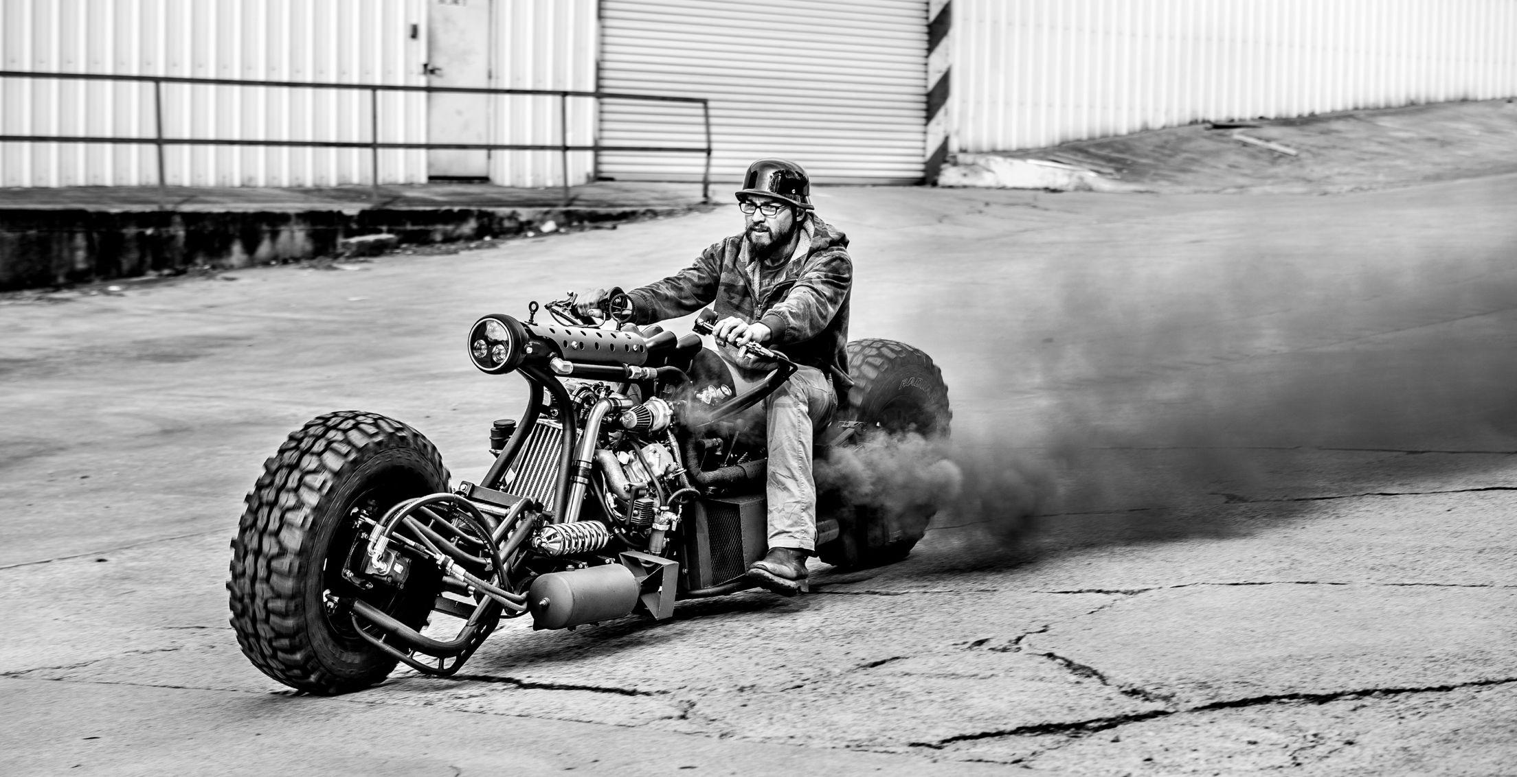 Hot biker Foxy Salt 97