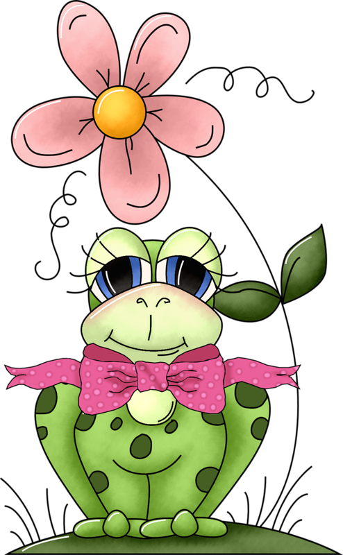 °‿✿⁀°•. Frogs °•.‿✿⁀° #clipart