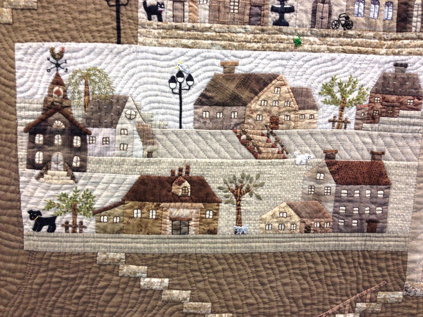 At the 20th European Patchwork Meeting in Alsace, France, Quiltmania ...