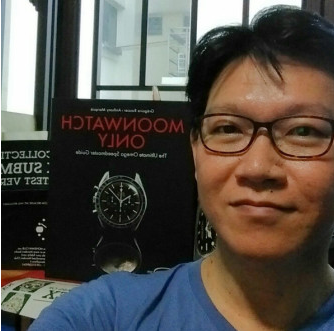 "MONDANI CLUB The Book ""Moonwatch"" from Singapore http://www.collectingwatches.com/mondani-club/"