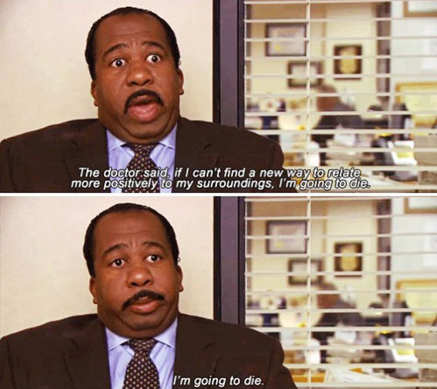 21 Signs Stanley From The Office Is You