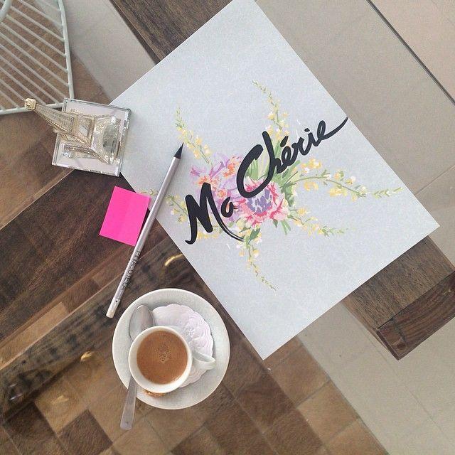 Combinação café + pôster ma chérie  www.artsy.iluria.com #artsybc