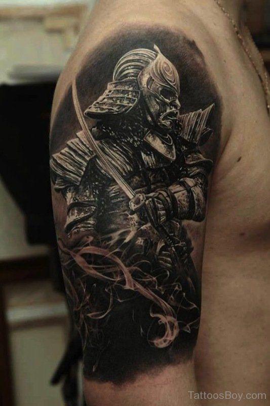17 Best Shoulder Armor Tattoo Designs For Men Japanese Tattoos