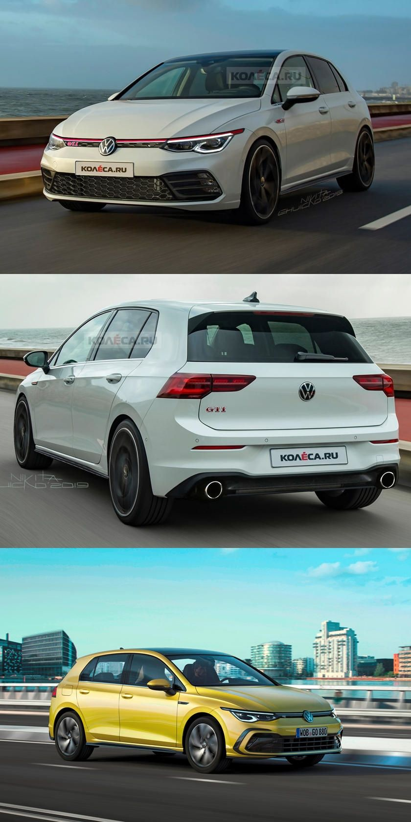 Get Ready For The Next Generation Volkswagen Golf Gti We Now Have A Good Idea What The New Golf Gti Will Look Like Golf Gti Vw Polo Gti Volkswagen