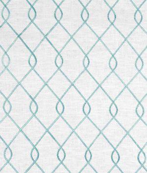 Shop Suburban Home Rico Aqua Fabric at onlinefabricstore.net for $24.95/ Yard. Best Price & Service.