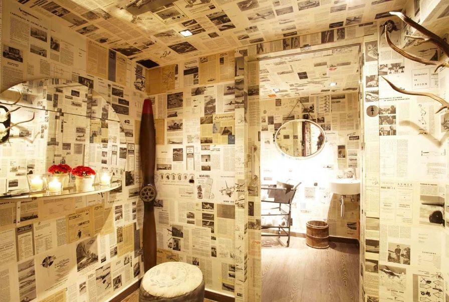 Baños de La Royale, restaurante en BCN www.livingmoda.es