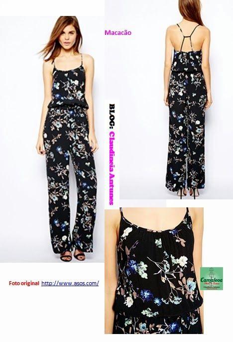 Modelos de Macacão longo | Costura hil | Pinterest | Jumpsuit ...