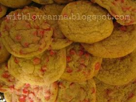 With Love, Anna: Cherry Chip Cheesecake Cookies