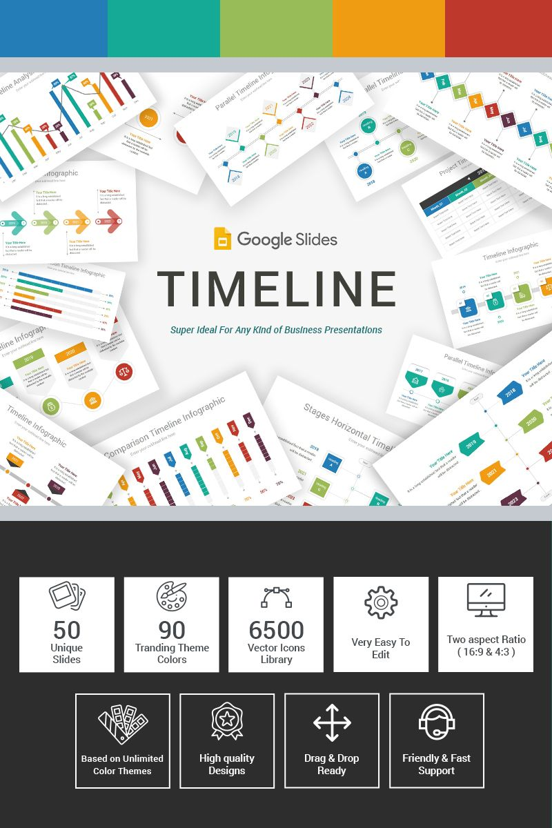 Timeline Google Slides 86138 In 2020 Timeline Infographic Google Slides Powerpoint Templates