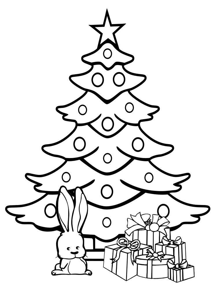 Imagenes de navidad dibujos animados para colorear