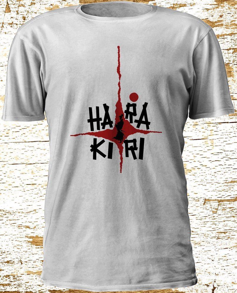 Harakiri 1962 Seppuku Japanese Seven Samurai Ronin T-Shirt Camiseta S-3XL #Gildan #BasicTee