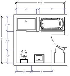 10x10 Bathroom Layouts Yahoo Image Search Results