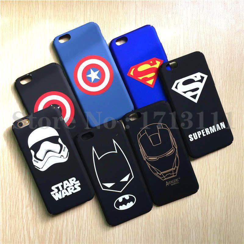 Brand Marvel Avengers Superhero Shield Superman Batman Case For ...