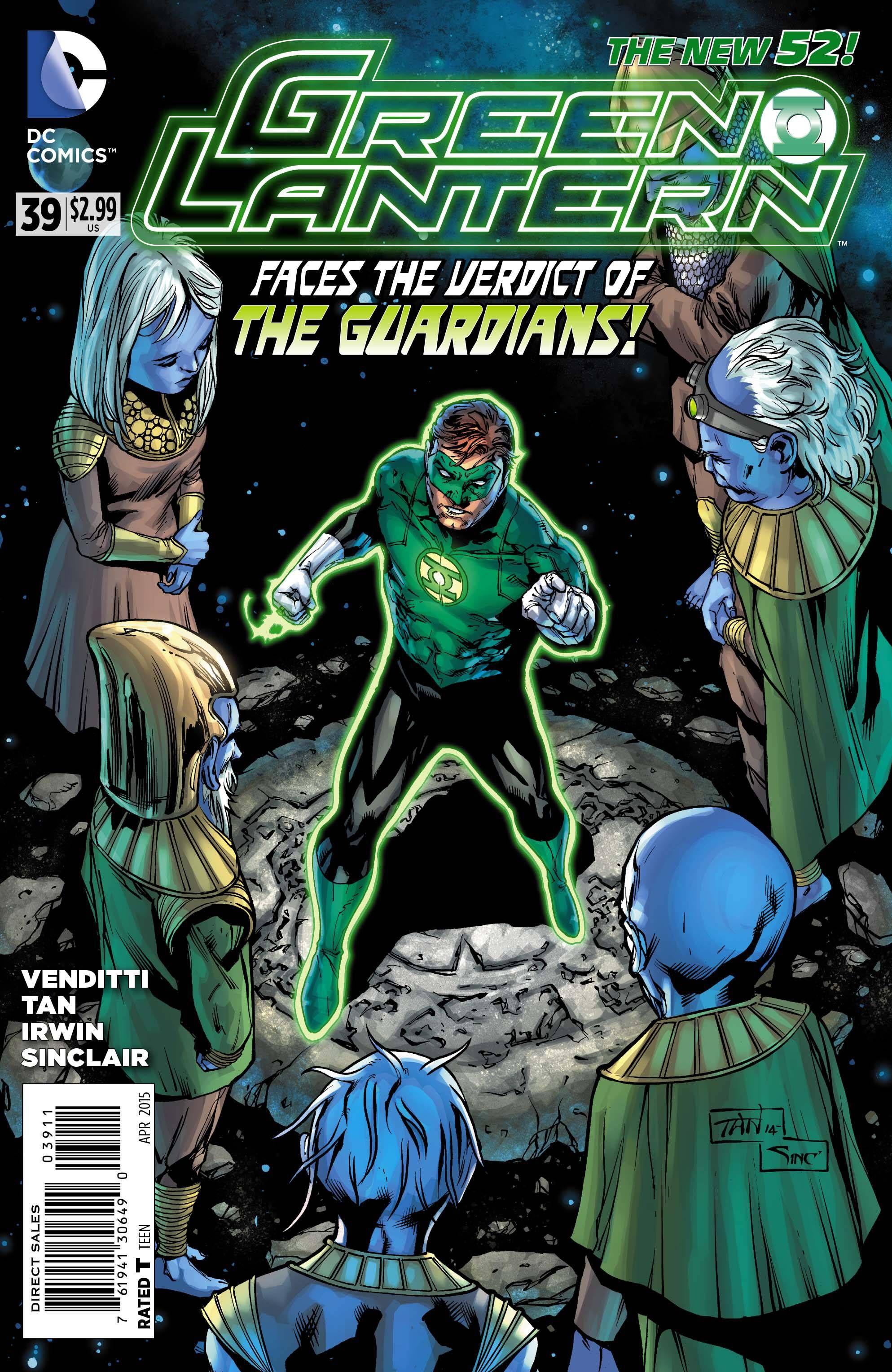 Green Lantern 39. Green lantern 2011, Dc comics artwork