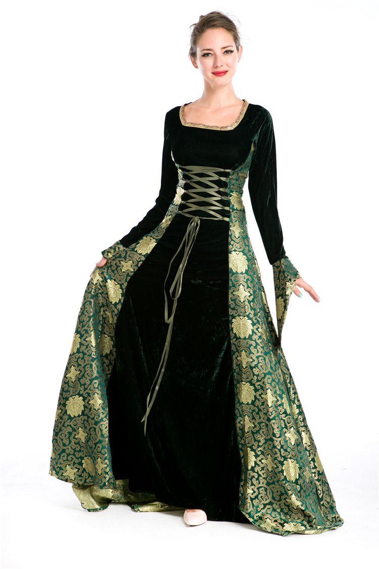 buy cosplay costume dress european vintage palace england royal queen excellent. Black Bedroom Furniture Sets. Home Design Ideas